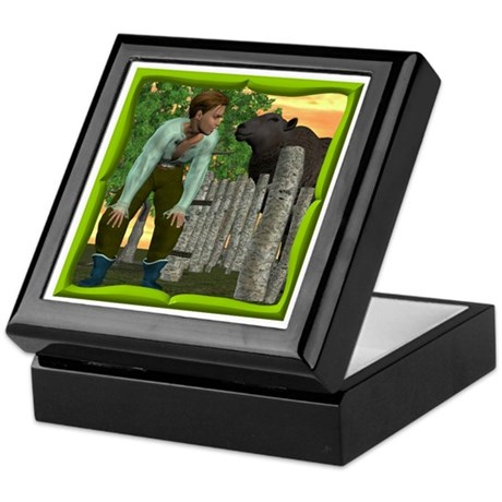 Black Sheep N Boy Keepsake Box