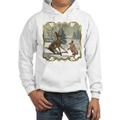 Bambi On Ice Hooded Sweatshirt