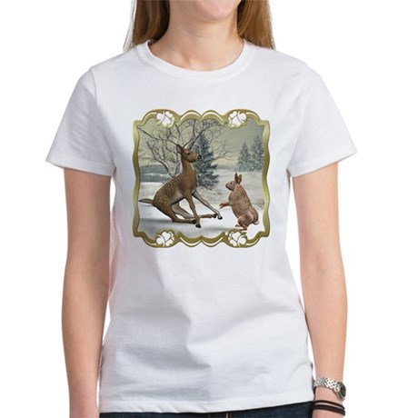 Bambi On Ice Women's T-Shirt