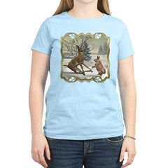 Bambi On Ice Women's Light T-Shirt