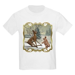 Bambi On Ice Kids Light T-Shirt