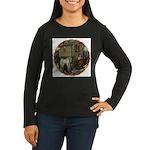 Boundless Journey Women's Long Sleeve Dark T-Shirt