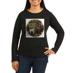 Boundless Journey Women's Long Sleeve Dark T-Shirt