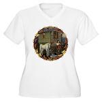 Boundless Journey Women's Plus Size V-Neck T-Shirt