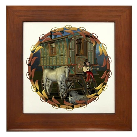 Boundless Journey Framed Tile