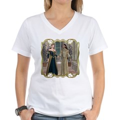 Camelot Women's V-Neck T-Shirt