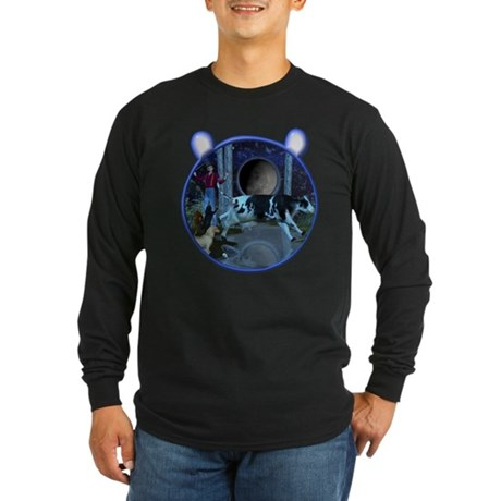 The Cat & The Fiddle Long Sleeve Dark T-Shirt