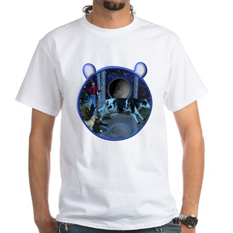 The Cat & The Fiddle White T-Shirt