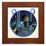 The Cat & The Fiddle Framed Tile