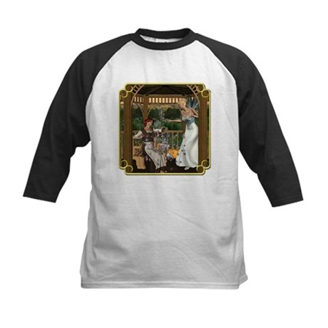 Cinderella & Godmother Kids Baseball Jersey