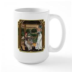 Cinderella & Godmother Large Mug