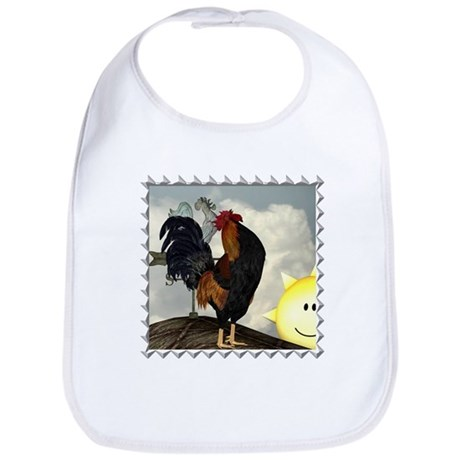 The Cock Crows Bib