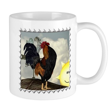 The Cock Crows Mug