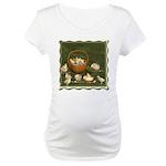 A Dozen Eggs Maternity T-Shirt