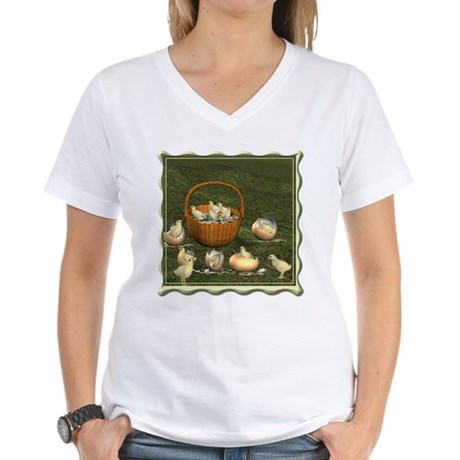 A Dozen Eggs Women's V-Neck T-Shirt