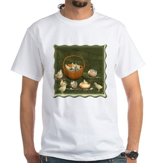 A Dozen Eggs White T-Shirt