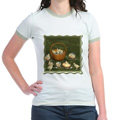 A Dozen Eggs Jr. Ringer T-Shirt