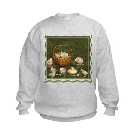 A Dozen Eggs Kids Sweatshirt