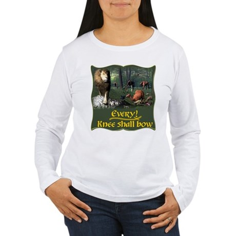 Every Knee Shall Bow Women's Long Sleeve T-Shirt