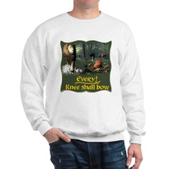 Every Knee Shall Bow Sweatshirt