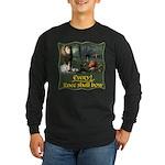 Every Knee Shall Bow Long Sleeve Dark T-Shirt