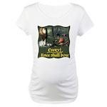 Every Knee Shall Bow Maternity T-Shirt