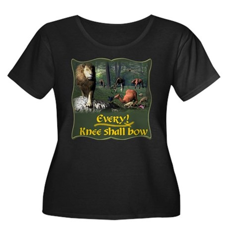Every Knee Shall Bow Women's Plus Size Scoop Neck