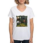 Every Knee Shall Bow Women's V-Neck T-Shirt