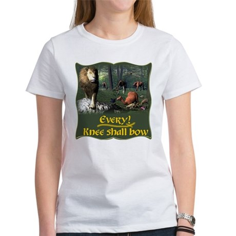 Every Knee Shall Bow Women's T-Shirt