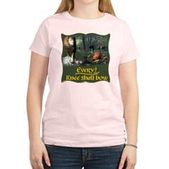 Every Knee Shall Bow Women's Light T-Shirt