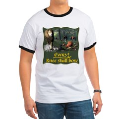 Every Knee Shall Bow Ringer T