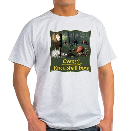 Every Knee Shall Bow Light T-Shirt
