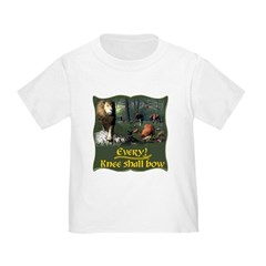 Every Knee Shall Bow Toddler T-Shirt