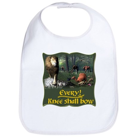 Every Knee Shall Bow Bib