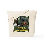 Every Knee Shall Bow Tote Bag