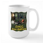 Every Knee Shall Bow Large Mug