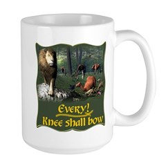 Every Knee Shall Bow Large Mug