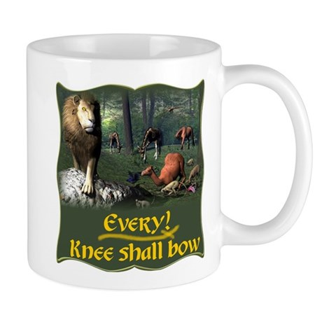 Every Knee Shall Bow Mug