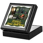 Every Knee Shall Bow Keepsake Box