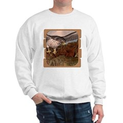 Flight of the Gyr Falcon Sweatshirt