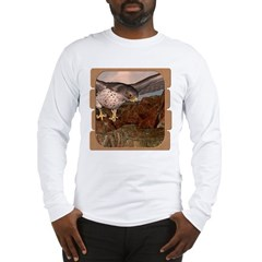 Flight of the Gyr Falcon Long Sleeve T-Shirt