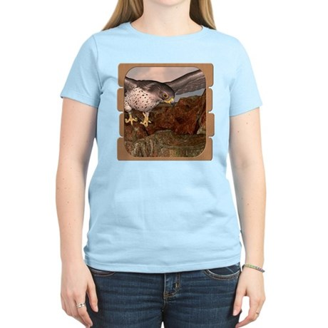 Flight of the Gyr Falcon Women's Light T-Shirt