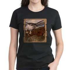 Flight of the Gyr Falcon Women's Dark T-Shirt
