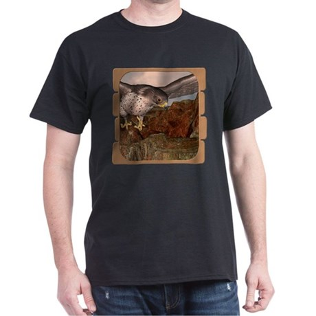 Flight of the Gyr Falcon Dark T-Shirt