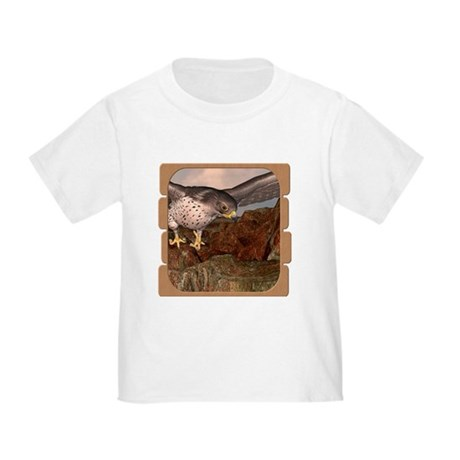 Flight of the Gyr Falcon Toddler T-Shirt