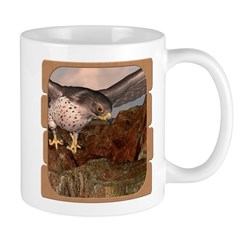 Flight of the Gyr Falcon Mug