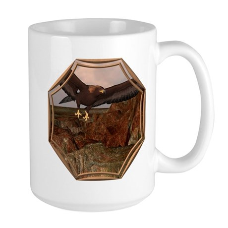 Flight of the Eagle Large Mug