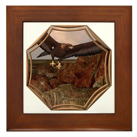 Flight of the Eagle Framed Tile