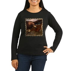 Flight of the Eagle Close Up Women's Long Sleeve D