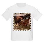 Flight of the Eagle Close Up Kids Light T-Shirt
